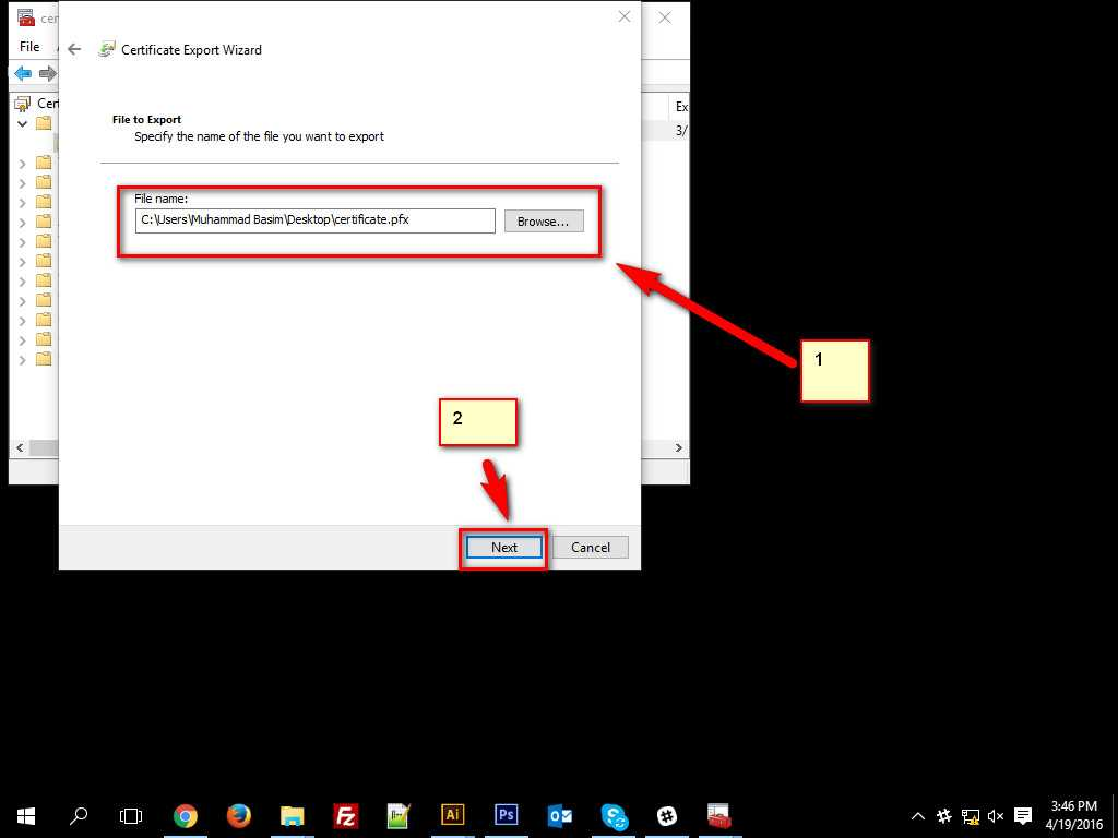 How To Encrypt Data in Windows 10 -13