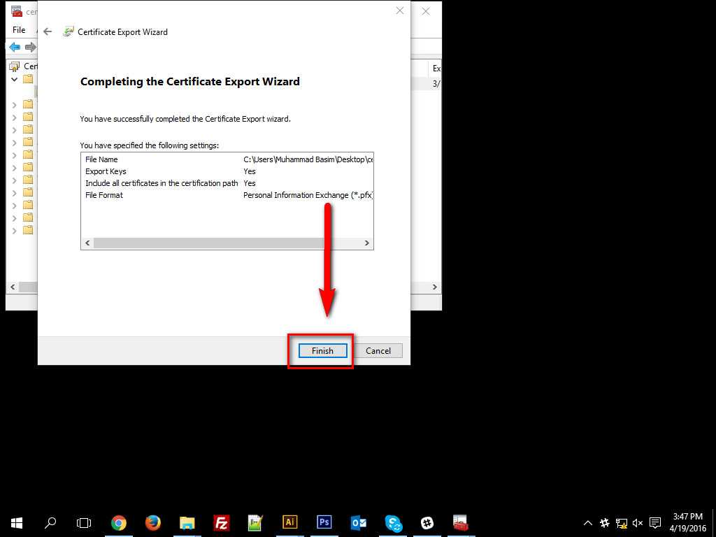 How To Encrypt Data in Windows 10-14