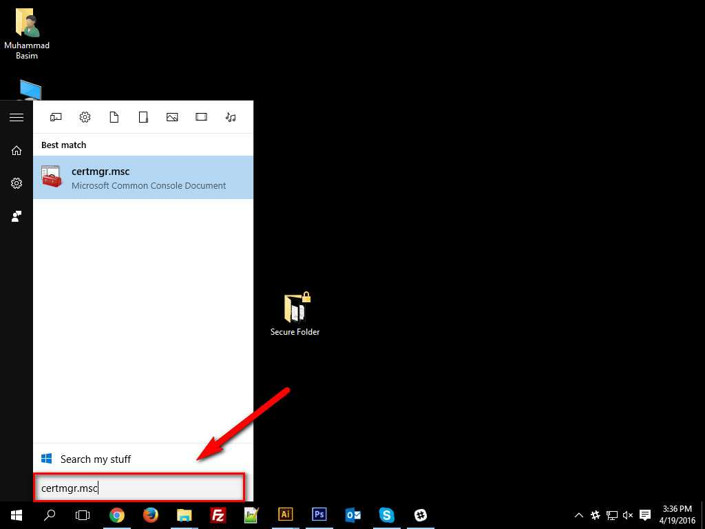 How To Encrypt Data in Windows 10 -4