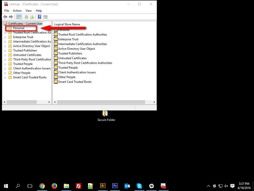 How To Encrypt Data in Windows 10 -5