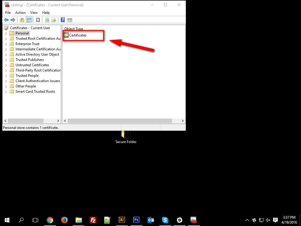 How To Encrypt Data in Windows 10 -6