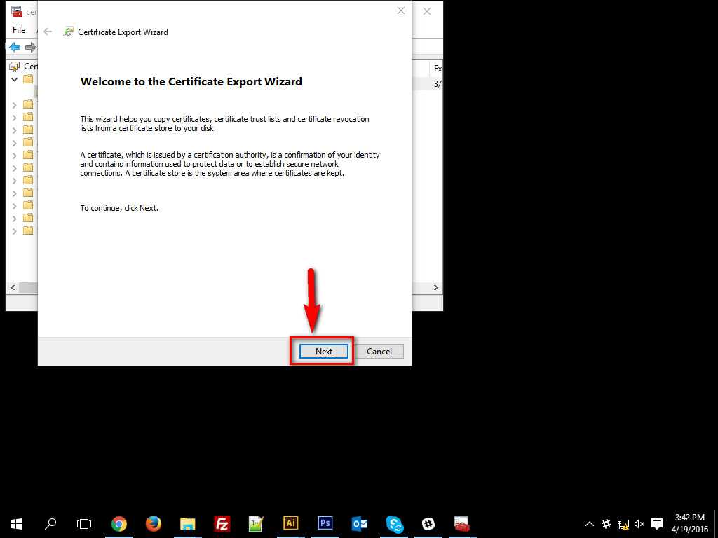 How To Encrypt Data in Windows 10-9